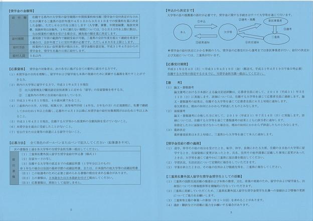 三重県私費外国人留学生奨学金2