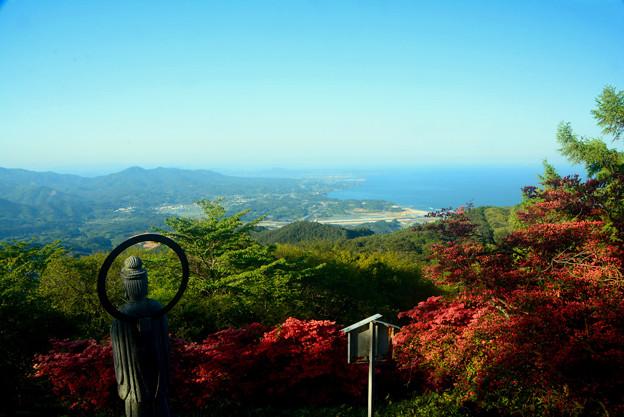 田束山から望む三陸海岸