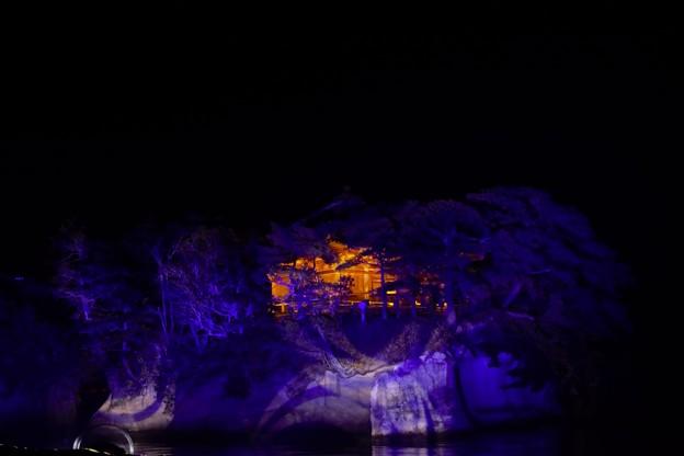 Photos: 五大堂のライトアップ