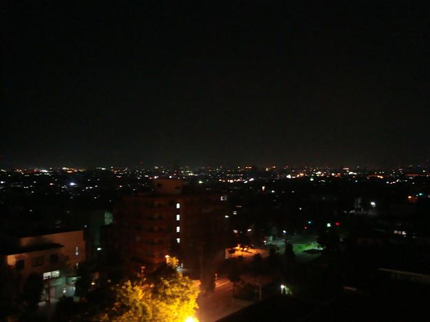 092.ホテルの部屋からの夜景