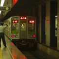 Photos: 都営新宿線市ヶ谷駅2番線 都営10-240F各停本八幡行き前方確認