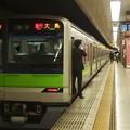 都営新宿線新宿駅5番線 都営10-400F急行大島行き側面よし