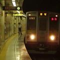 都営新宿線篠崎駅1番線 都営10-250F急行笹塚行き通過(2)