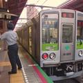 Photos: 都営新宿線船堀駅1番線 都営10-250F急行笹塚行きベル扱い