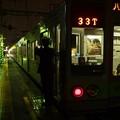 京王線代田橋駅1番線 都営10-280F各停八幡山行き側面よし
