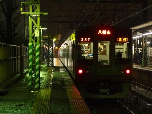 京王線代田橋駅1番線 都営10-280F各停八幡山行き前方確認