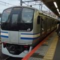Photos: 横須賀線鎌倉駅2番線 エアポート成田停止位置よし