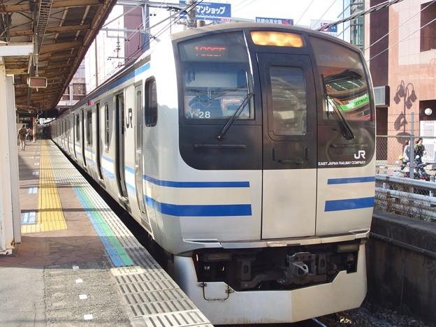 総武快速線津田沼駅1番線 エアポート成田