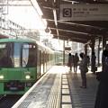 京王新線笹塚駅3番線 京王8713急行新線新宿行き進入