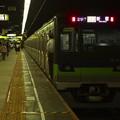 写真: 都営新宿線神保町駅1番線 都営10-520F各停新宿行き前方確認