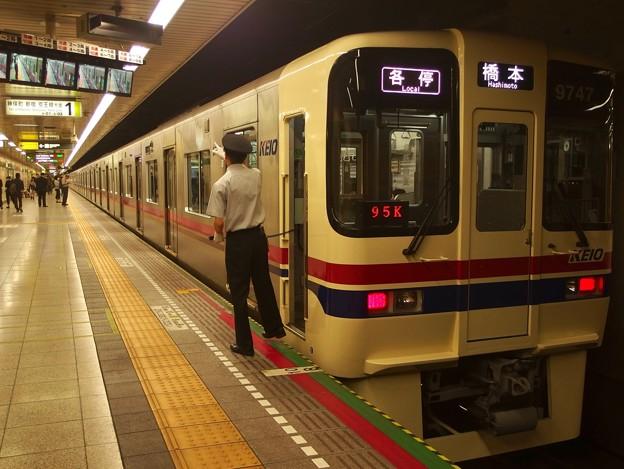 都営新宿線馬喰横山駅1番線 京王9047F各停橋本行き側面よし