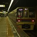 写真: 都営新宿線神保町駅1番線 京王9047各停橋本行き前方確認