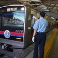 京急線京急品川駅2番線 京成3028Fエアポート快特高砂行き表示確認