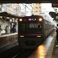 京成線立石駅2番線 京成3027F快速佐倉行き進入