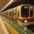 Photos: 都営新宿線大島駅1番線 京王9043各停八幡山行き