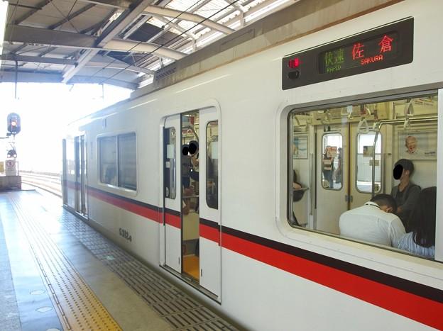 京急線京急品川駅2番線 都営5312快速佐倉行き(2)