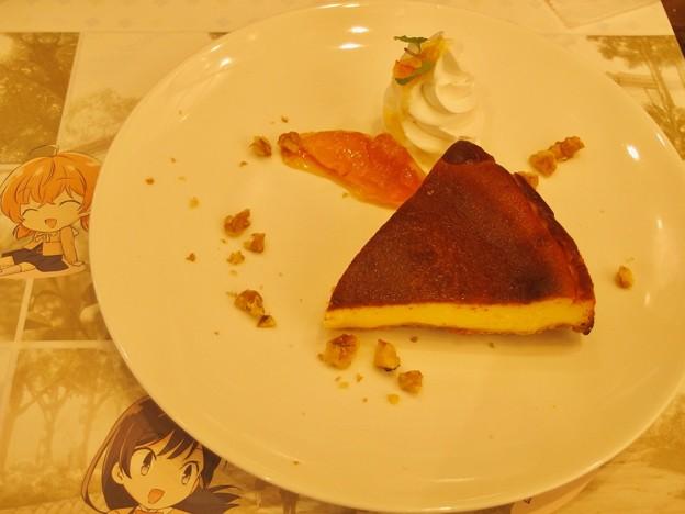 やがて君になるコラボカフェ ベイクドチーズケーキ