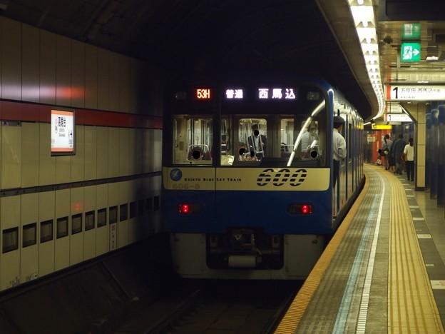 都営浅草線高輪台駅1番線 京急606F普通西馬込行き前方確認