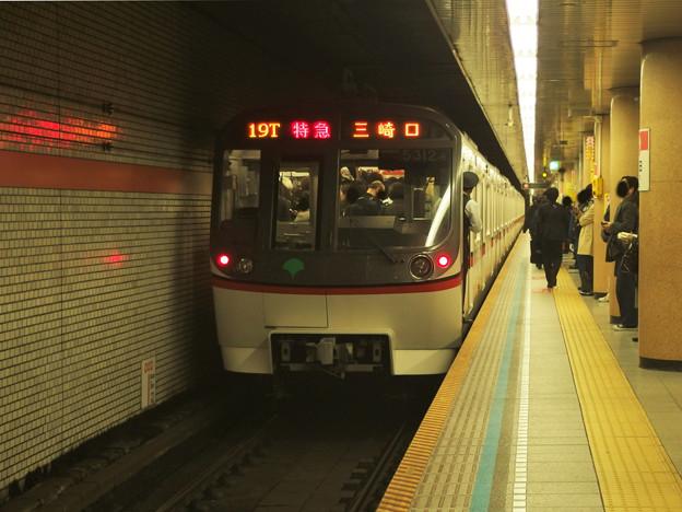 都営浅草線三田駅1番線 都営5312F特急三崎口行き前方確認