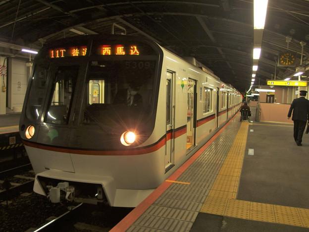 京成押上線四ツ木駅1番線 都営5309F普通西馬込行き