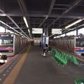 京成線青砥駅1・2番線 京成3858F快速特急羽田空港行き 京成3027F特急上野行き