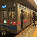 Photos: 都営浅草線五反田駅2番線 京成3658快速特急成田行き停止位置よし