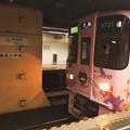 都営新宿線神保町駅2番線 京王9731Fサンリオピューロランド急行大島行き(2)