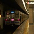 Photos: 都営浅草線馬込駅2番線 京成3658F快速佐倉行き前方確認(2)