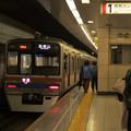 Photos: 都営浅草線馬込駅1番線 京成3858F普通西馬込行き前方確認