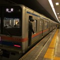 Photos: 都営浅草線馬込駅2番線 京成3858F快速佐倉行き停止位置よし