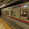京成線押上駅1番線 京成3438F快速西馬込行き停止位置よし