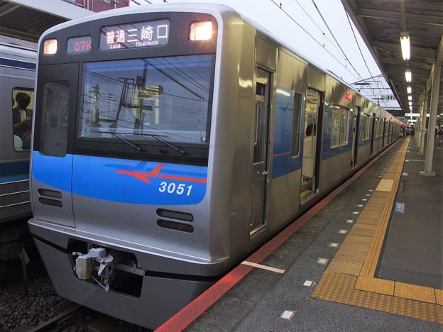 京成押上線立石駅1番線 京成3051F普通三崎口行き