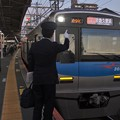 Photos: 京成本線高砂駅1番線 京成3055Fアクセス特急京急久里浜行き表示確認
