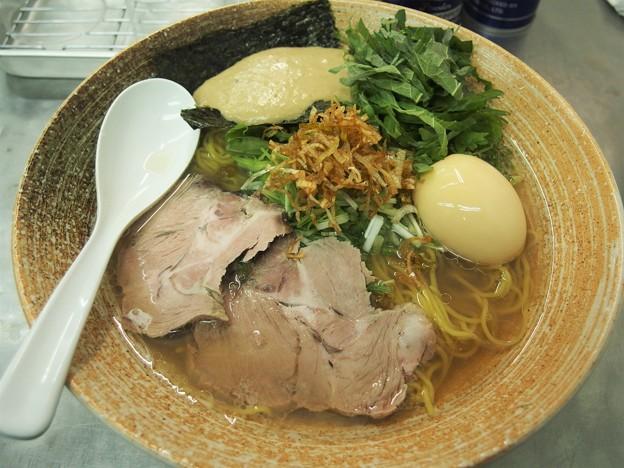 覆麺智 2020年2月火曜限定 牡蠣出汁塩ラーメン