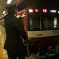都営浅草線押上駅1番線 京急1033F特急三浦海岸行き表示確認