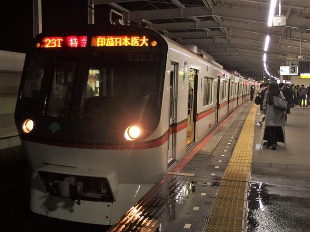 京成押上線青砥駅3番線 都営5323F特急印旛日本医大行き