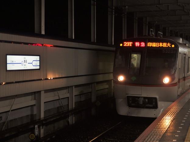 京成押上線青砥駅3番線 都営5323F特急印旛日本医大行き進入(2)
