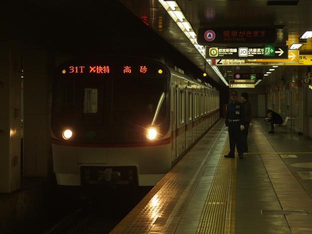 都営浅草線東日本橋駅2番線 都営5313Fエアポート快特高砂行き
