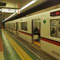 Photos: 都営浅草線東日本橋駅2番線 都営5313Fエアポート快特高砂行き側面
