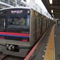 京成本線京成小岩駅4番線京成3034F普通京成臼井(うすい)行き(3)