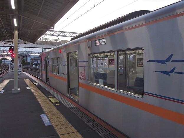 京成本線高砂駅2番線 京成3052F快速特急羽田空港行き(2)