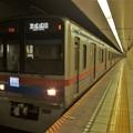 都営浅草線東銀座駅2番線 京成3758F通勤特急京成成田行き(2)