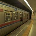 Photos: 都営浅草線五反田駅2番線 京成3688F通勤特急佐倉行き