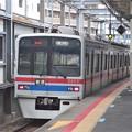 北総線新鎌ヶ谷駅4番線 京成3408F普通印旛日本医大行き前方確認
