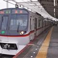 京成押上線青砥駅3番線 都営5316F快速特急高砂行き
