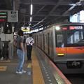 京成押上線青砥駅1番線 京成3053Fアクセス特急羽田空港行き進入