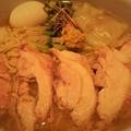 塩生姜らー麺専門店MANNISH 肉増しワンタン塩生姜らー麺特盛り(2)