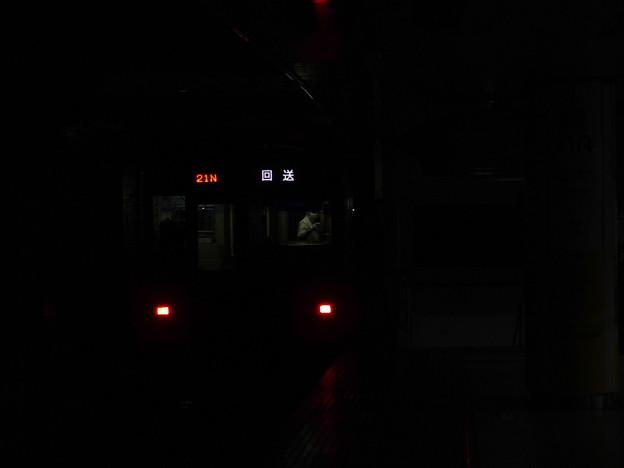 京成押上線押上駅2番線 北総7808F臨時回送後方よし