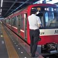 京成押上線青砥駅1番線 京急1129F普通三崎口行き表示確認