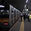 京成本線青砥駅4番線 京成3054F(成田スカイアクセス線開業10周年HM)アクセス特急成田空港行き停止位置よし